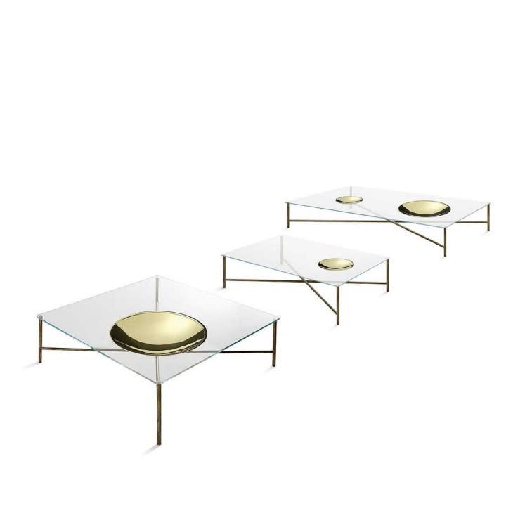 Gallotti&Radice Golden Moon side table