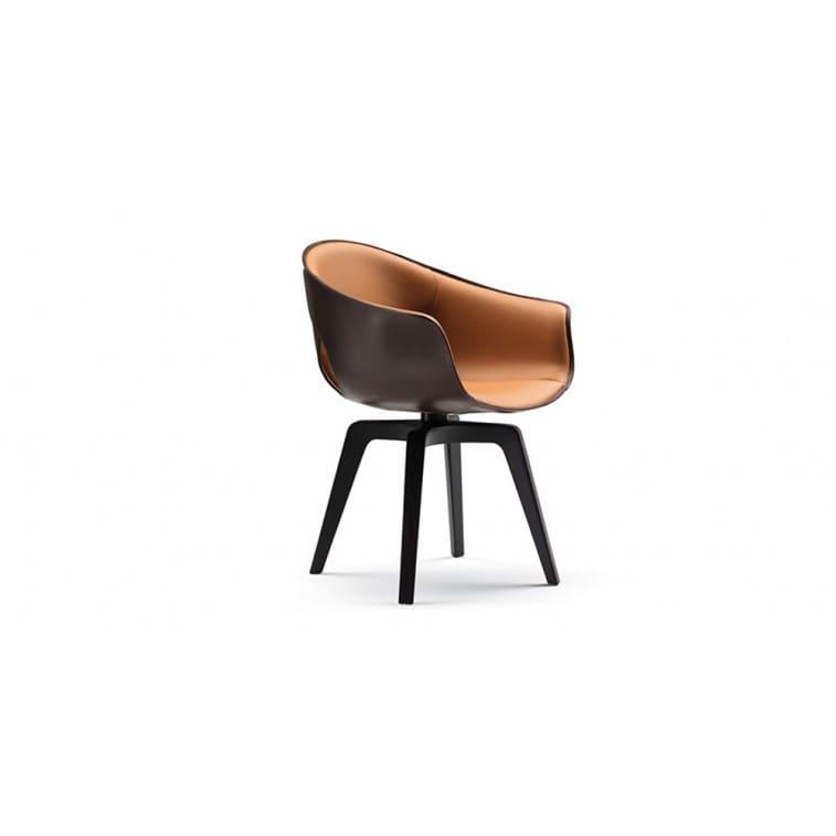 Ginger-Chair-Poltrona Frau-Roberto Lazzeroni