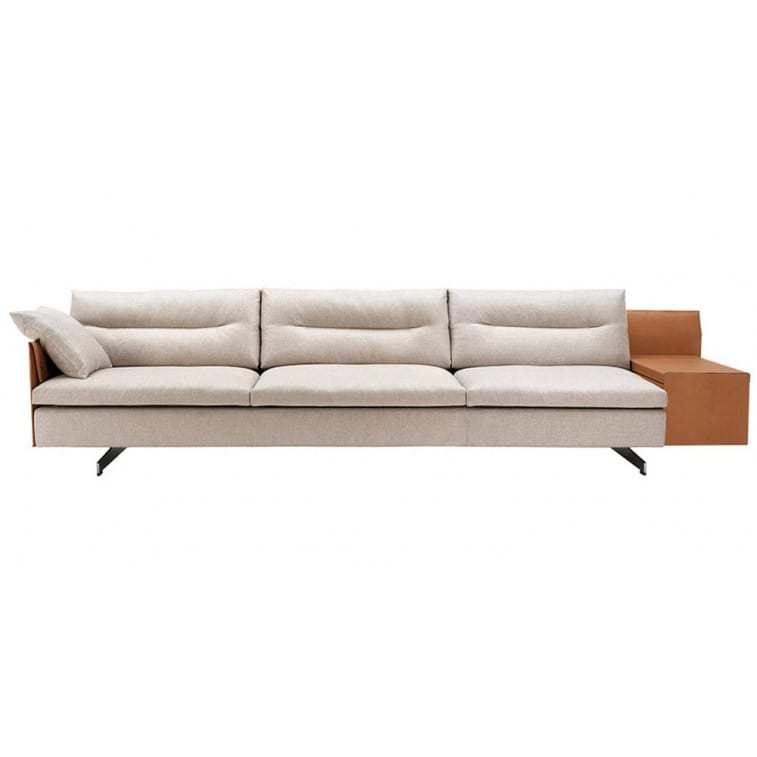 Grantorino Three Seater Sofa Large-Sofa-Poltrona Frau-Jean-Marie Massaud