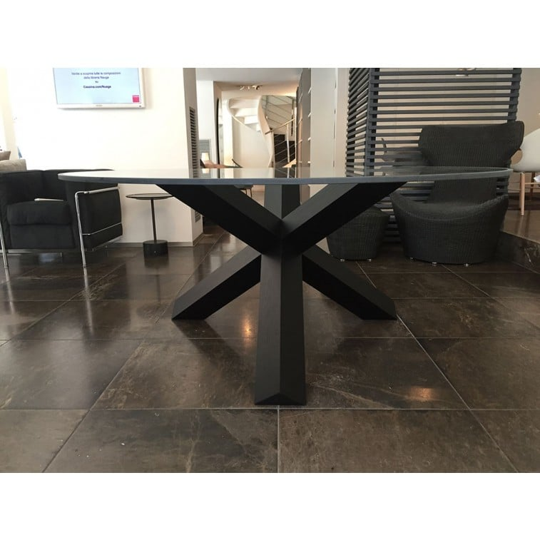 La Rotonda black-Table-Cassina-Mario Bellini