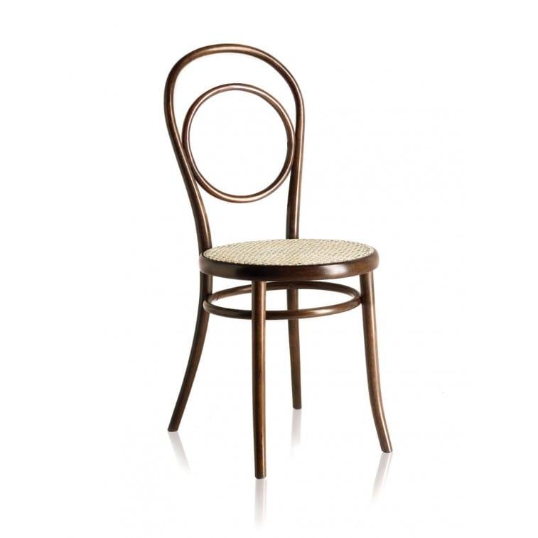 N14 Chair Woven Cane Seat-Chair-Gebruder Thonet Vienna-Michael Thonet