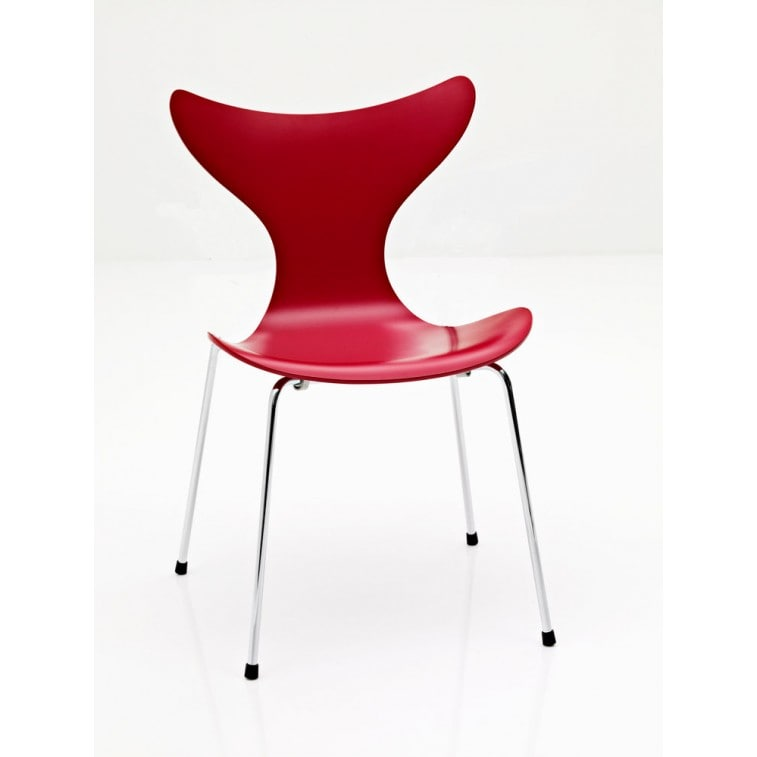 Lily Chair Front Upholstered-Chair-Fritz Hansen-Arne Jacobsen