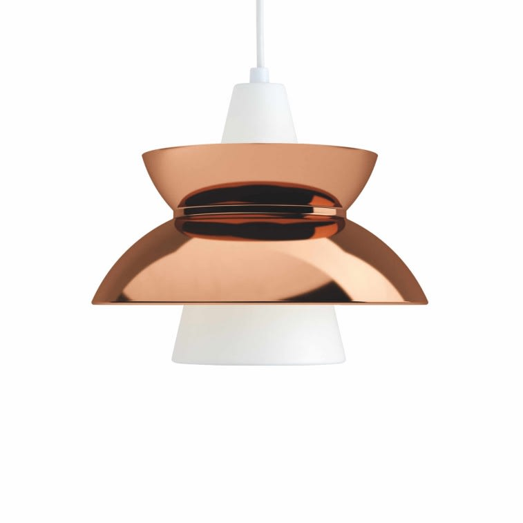 Louis Poulsen Doo-Wop lamp copper
