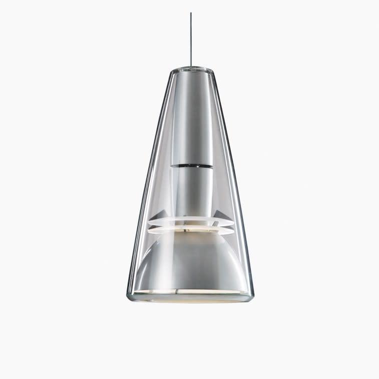 Louis Poulsen LP Charisma King Lamp Grey Aluminum