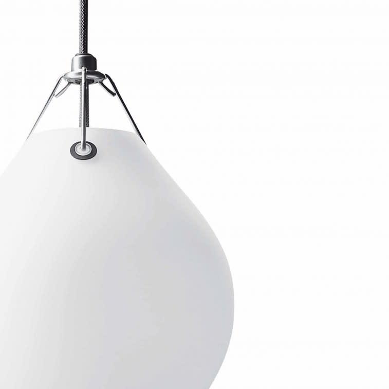 Louis Poulsen Moser lamp close up