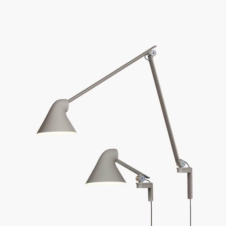 Louis Poulsen Njp wall lamp light grey