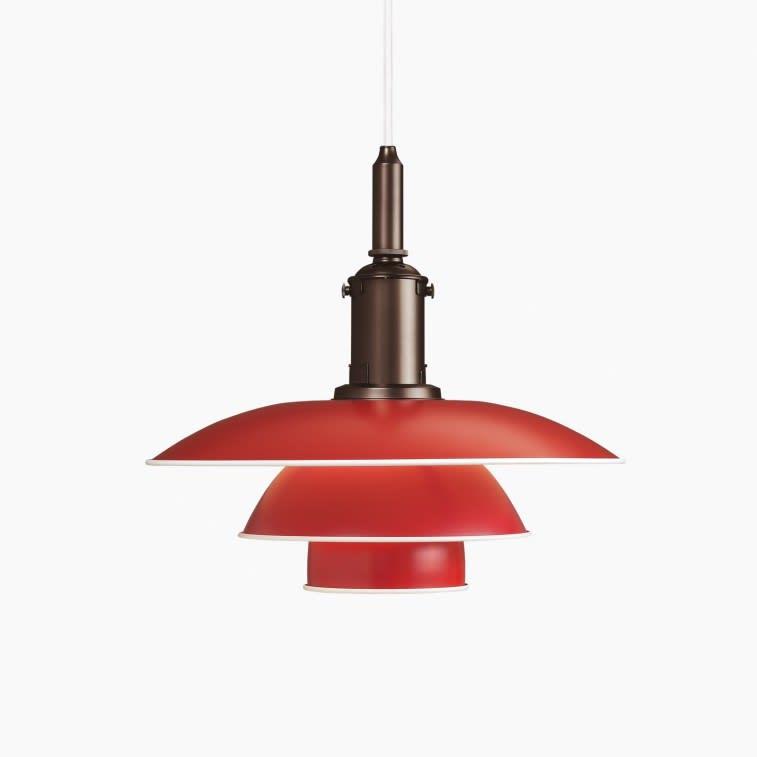 Louis Poulsen PH 3½-3 Pendant Lamp red