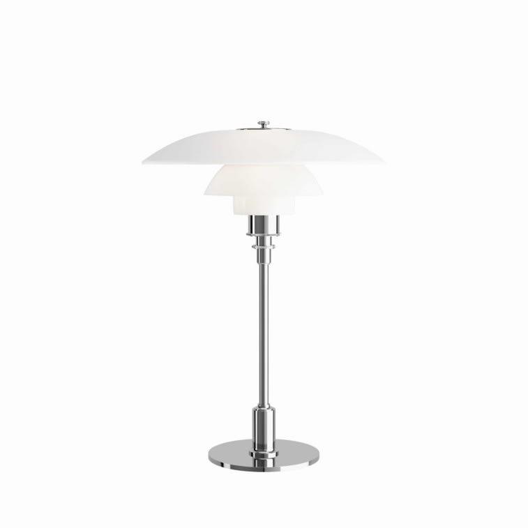 Louis Poulsen ph 3.5 2.5 glass table lamp