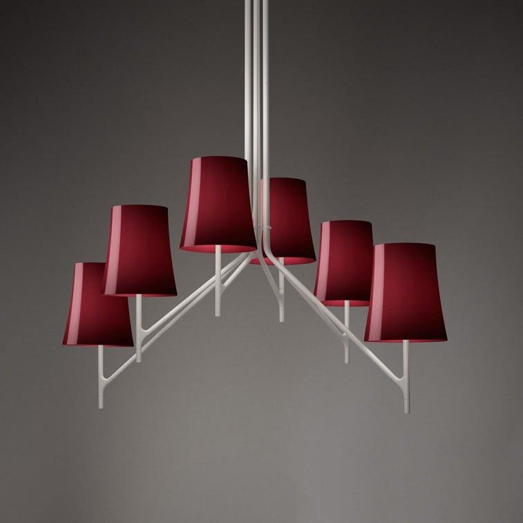 Birdie 6 Suspension Lamp-Suspension Lamp-Foscarini-L. & R. Palomba