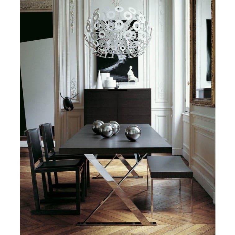 maxalto max table rectangular black