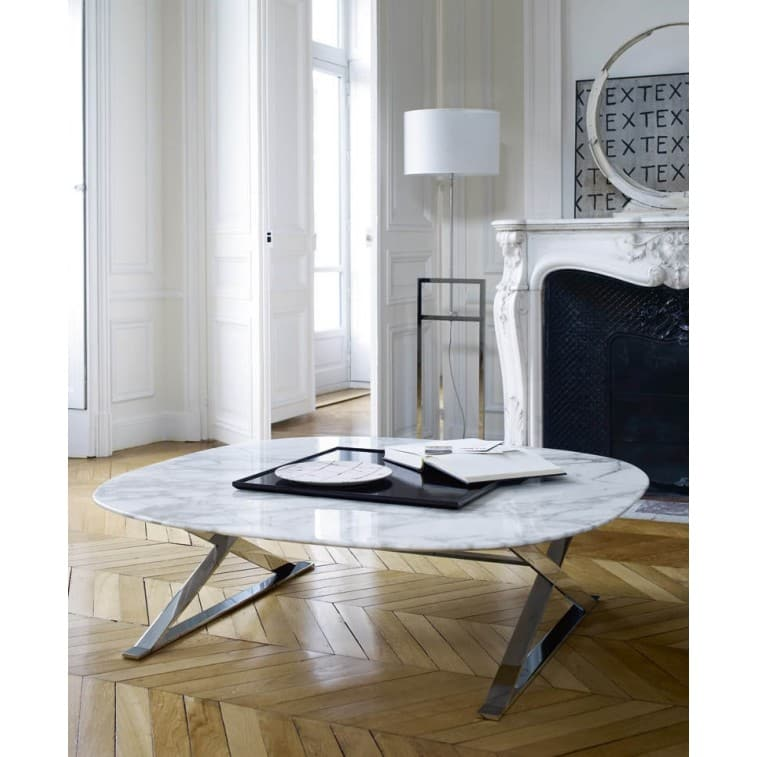 Maxalto Pathos Small Table square marble