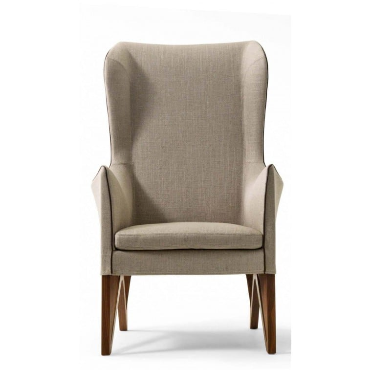 Mobius 63930 Wing chair-Armchair-Giorgetti-Umberto Asnago