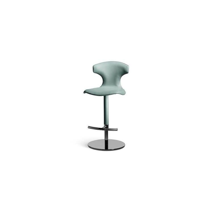Poltrona Frau Montera stool leather