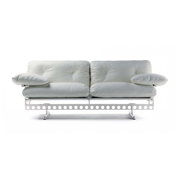 Divano In Pelle Frau.Poltrona Frau Ouverture Two Seater Sofa Deplain Com