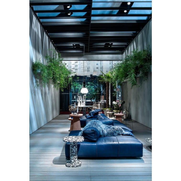 Baxter Panama Bold Open Air Sofa - Cloyster Navy