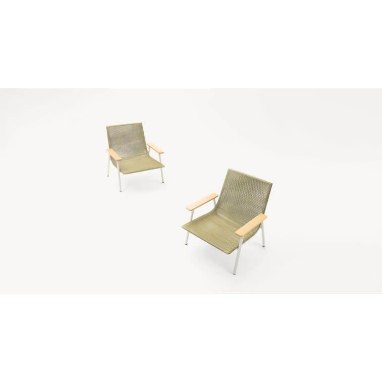 paola lenti baia outdoor armchair