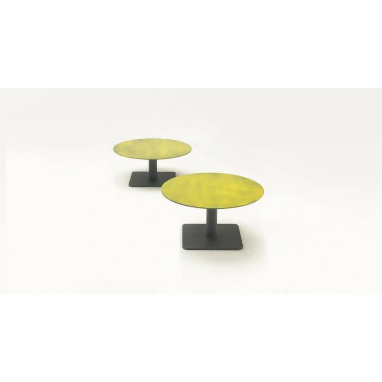 paola lenti giro outdoor side table