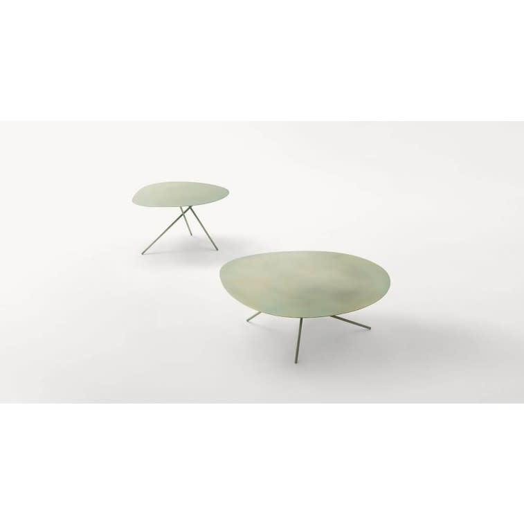 paola lenti lever side table outdoor