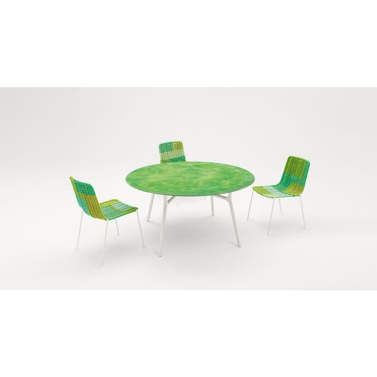 paola lenti nesso outdoor table