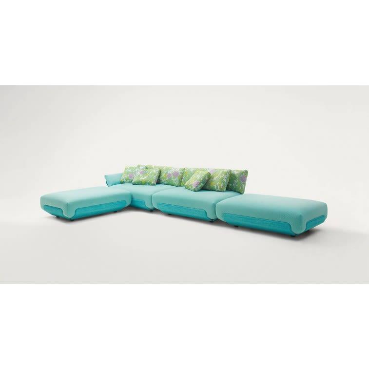 paola lenti oasi outdoor sofa