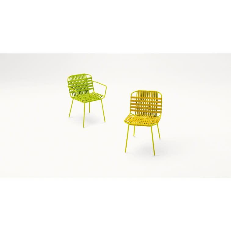 paola lenti telar outdoor chair