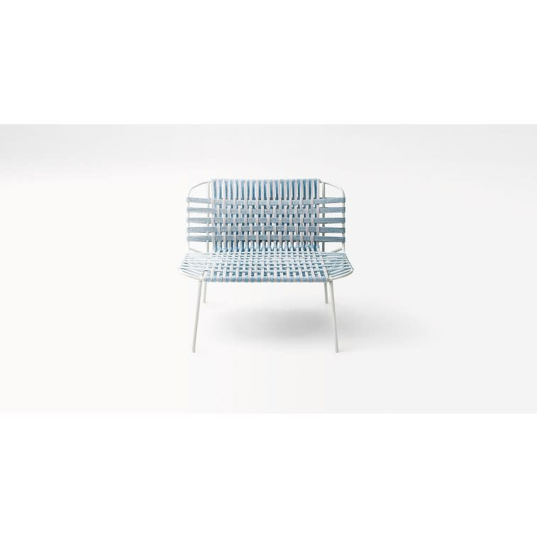 paola lenti telar outdoor armchair