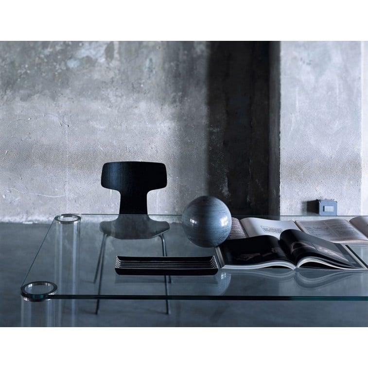 Pipeline rectangular shape-Side Table-Glas italia-Piero Lissoni
