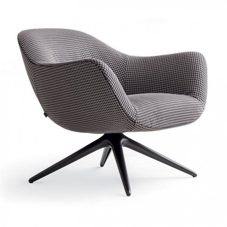 Poliform Mad Chair Swivel Armchair