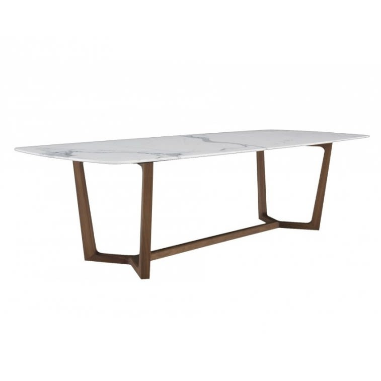 Concorde Poliform table white marble - canaletto