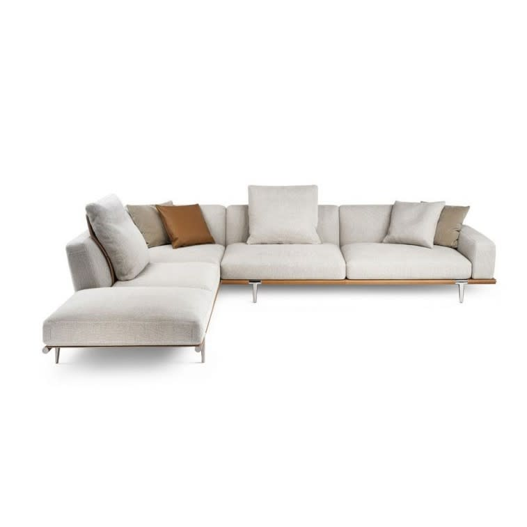 Divano In Pelle Frau.Poltrona Frau Let It Be Sofa