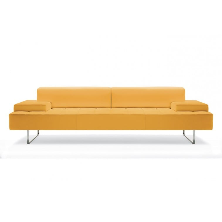 Quadra 2 Seater Large Sofa  Sofa Poltrona Frau Studio Cerri U0026 Associati