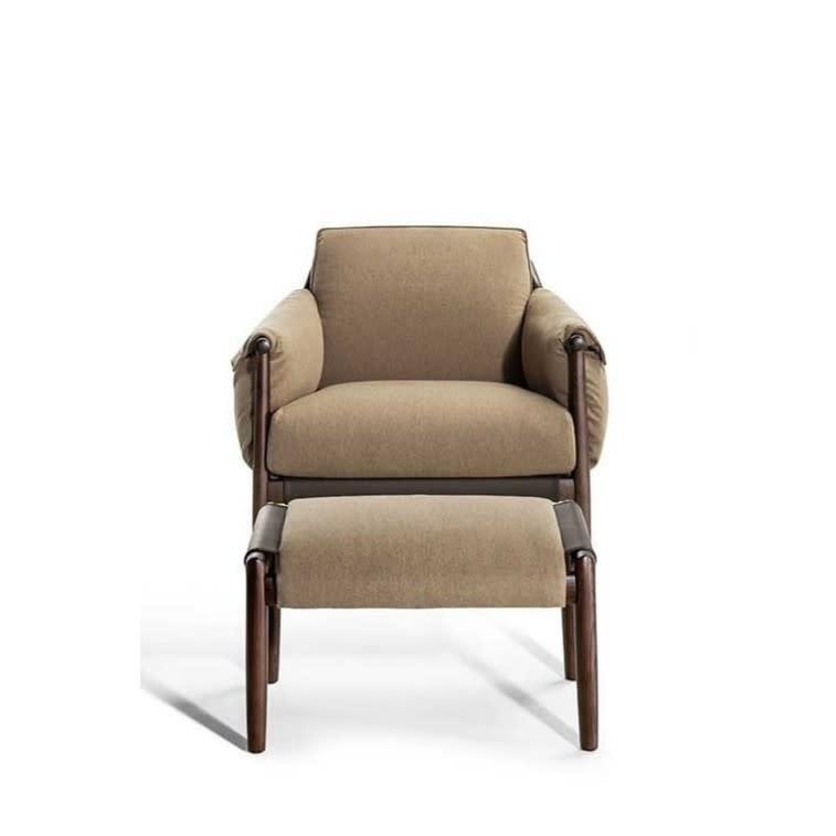 poltrona frau times lounge armchair