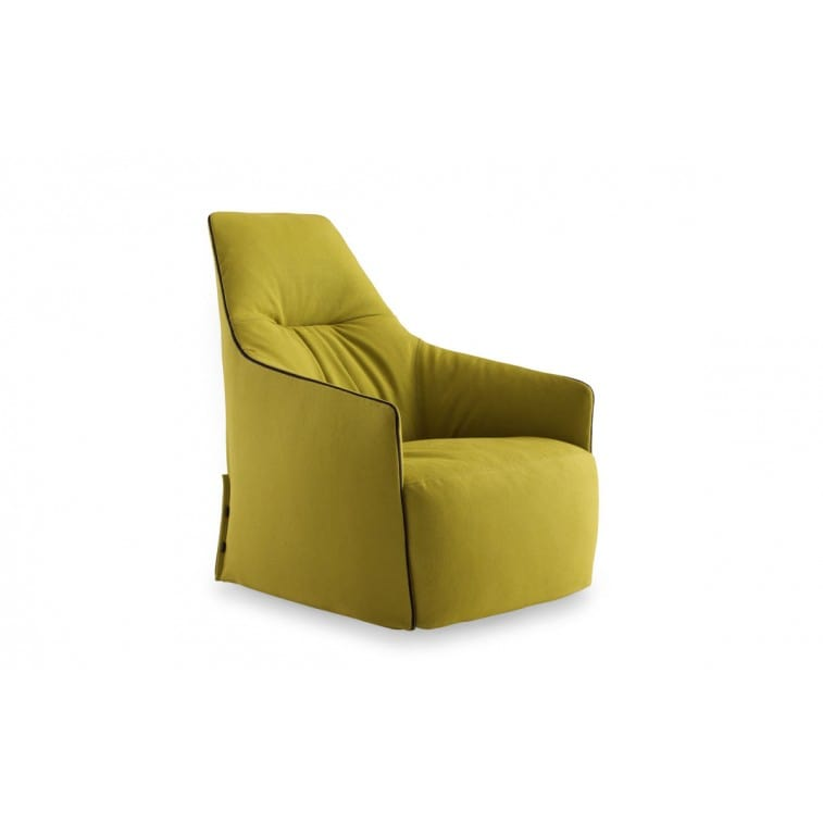 Santa Monica Lounge Armchair-Armchair-Poliform-Jean-Marie Massaud