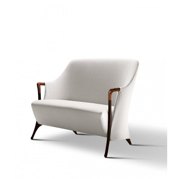 Progetti 63262 2-seat sofa in beech wood-Sofa-Giorgetti-Centro Ricerche Giorgetti