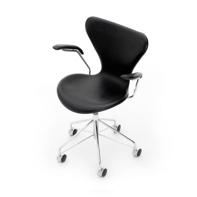 Series 7-3117-3217- Swivel -Chair-Fritz Hansen-Arne Jacobsen