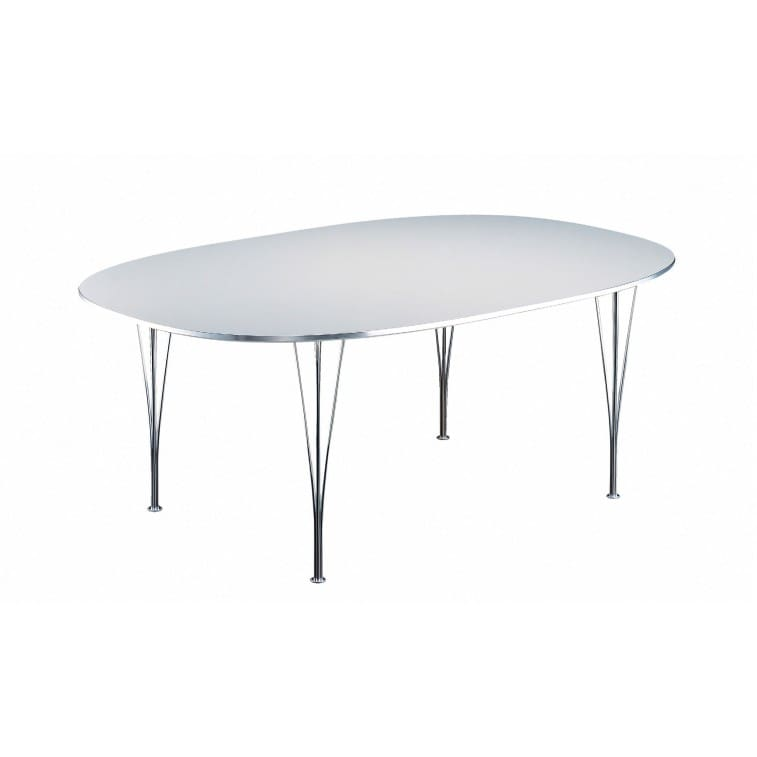 Series Table circular/super-circular/super-elliptical-Table-Fritz Hansen-Arne Jacobsen Bruno Mathsson Piet Hein