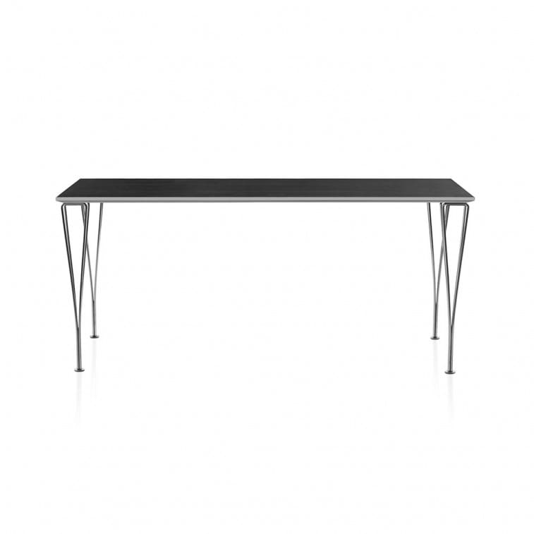 Series Table rectangualar-Table-Fritz Hansen-Arne Jacobsen Bruno Mathsson Piet Hein