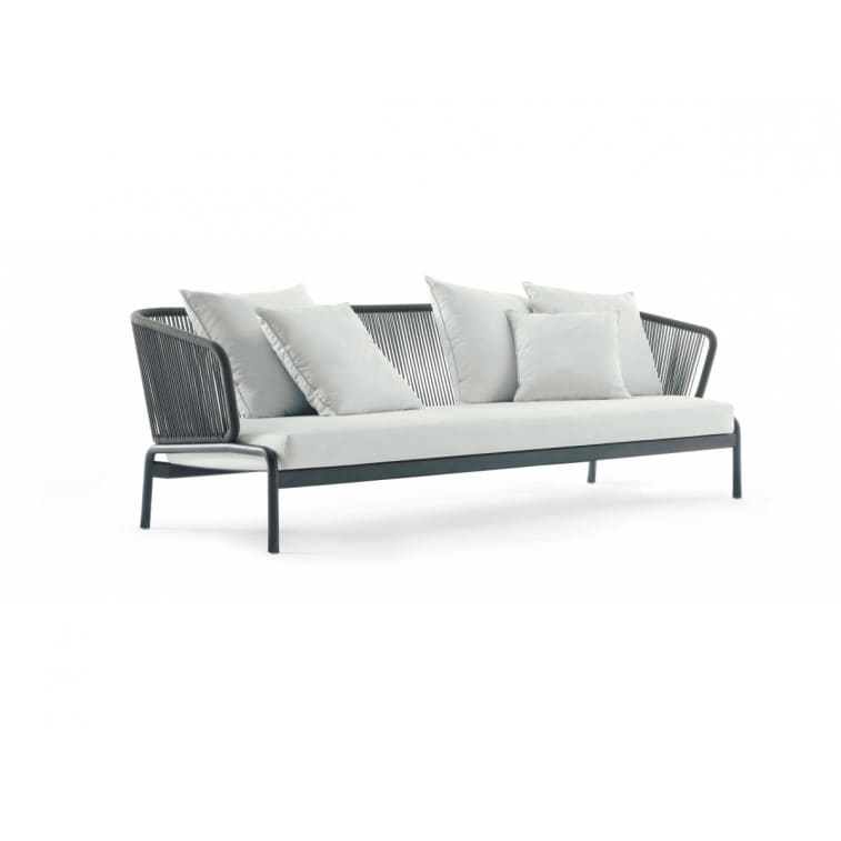 Spool Four-Seated Sofa-Sofa-Roda-Rodolfo Dordoni