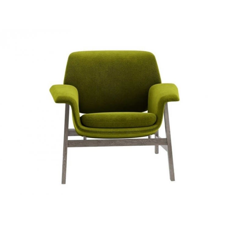 Tacchini Agnese armchair green