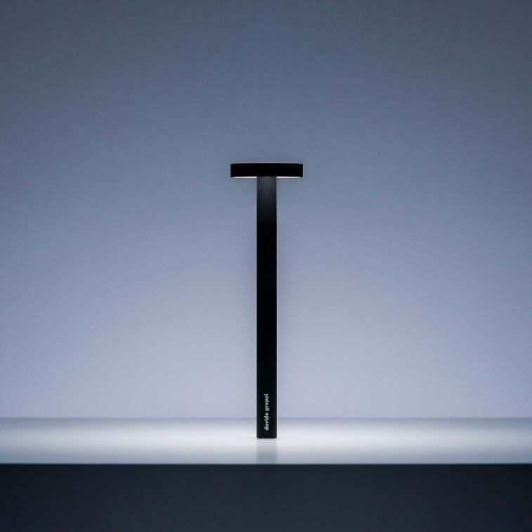 Davide Groppi Tetatet Touch Black