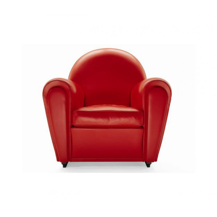 Poltrona Frau Vanity Fair Red Armchair | Deplain.com
