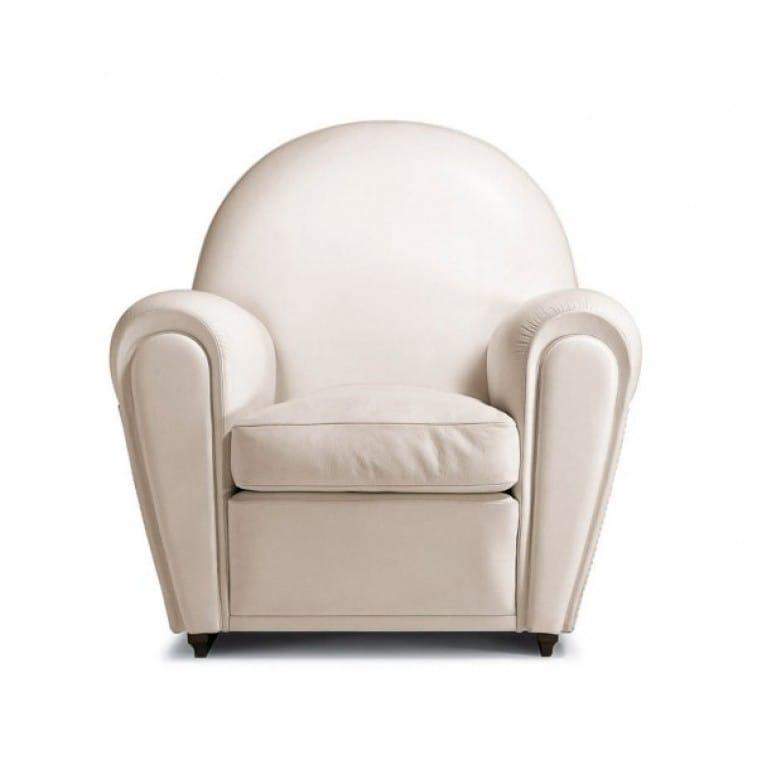 Vanity Fair Polare White Armchair Poltrona Frau