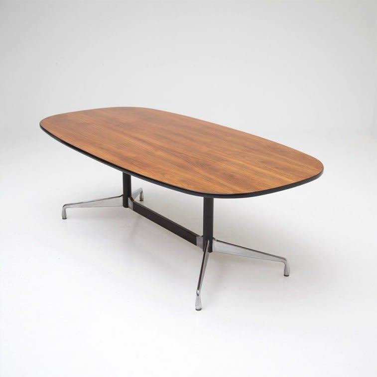 vitra eames segmented table dining