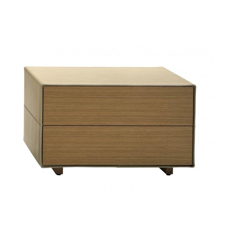 Vitruvio Bedside-Bedside Table-Poltrona Frau-Jean-Marie Massaud