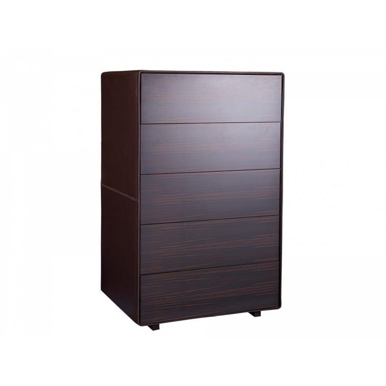 Vitruvio High Drawer chest-Chest of drawer-Poltrona Frau-Jean-Marie Massaud