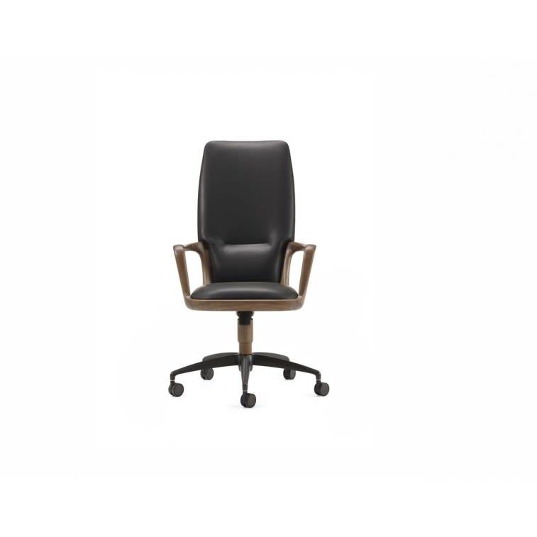 Ceccotti Vossia office chair leather