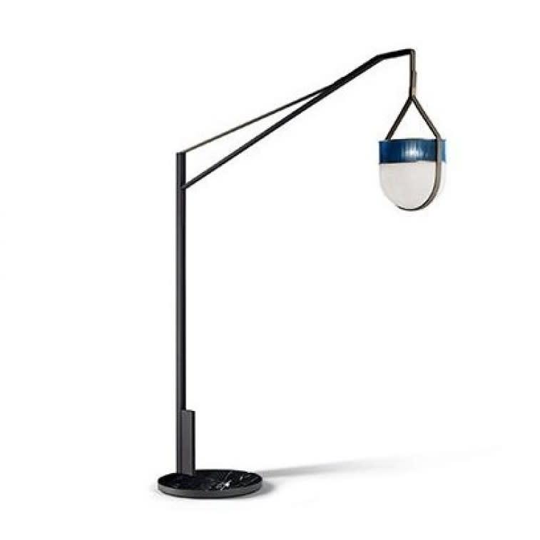Poltrona Frau Xi floor arm lamp