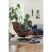 Lounge Chair & Ottoman Santos Rosewood Lounge Chair Vitra Charles & Ray Eames