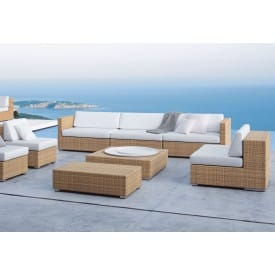 Lounge Three-seater Sofa-Sofa-Dedon-Frank Ligthart