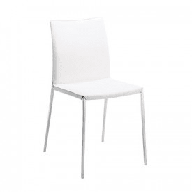 Lia chair white -Chair-Zanotta-Roberto Barbieri